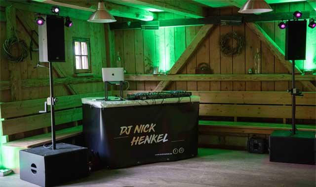 DJ Firmenfeier Allgäu